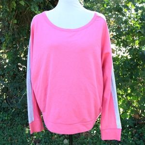 Pink Athletic Sweatshirt XL